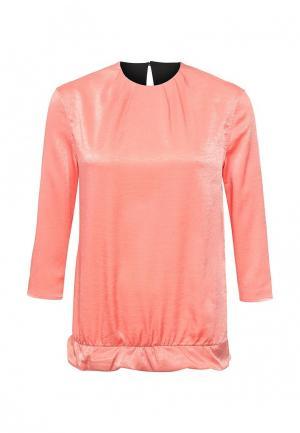 Блуза Love & Light. Цвет: коралловый
