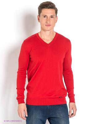 Пуловер Ruck&Maul. Цвет: красный