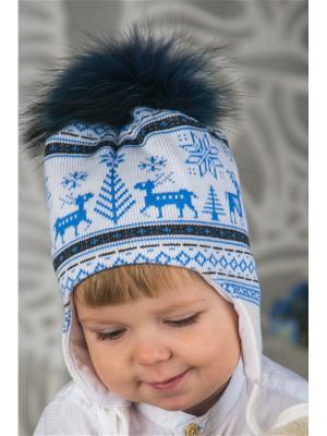 Шапка LFC. Цвет: белый, серый, голубой