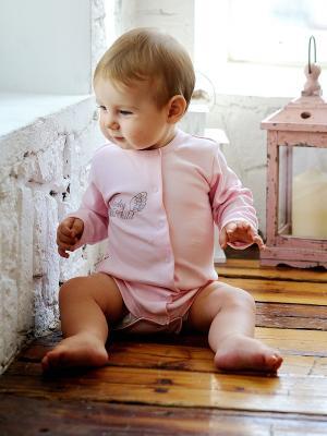 Боди Lucky Child. Цвет: бледно-розовый
