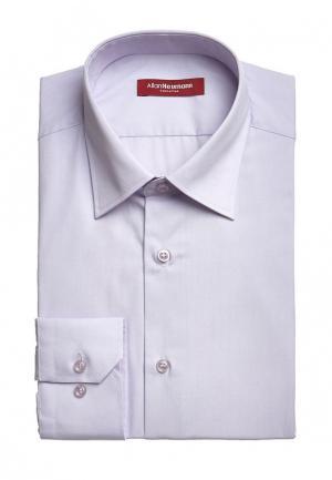 Рубашка Allan Neumann. Цвет: фиолетовый