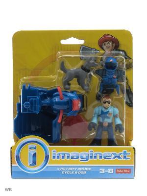 Городские спасатели Mattel. Цвет: синий, желтый