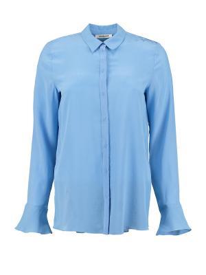 Блузка Cacharel. Цвет: голубой