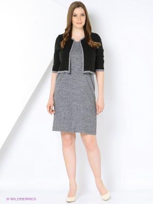 Комплекты одежды Veronika Style. Цвет: серый меланж