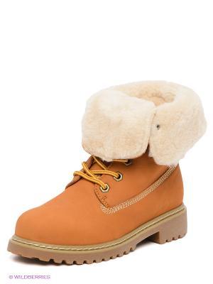 Ботинки Covani. Цвет: светло-желтый