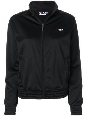Спортивная куртка Fila. Цвет: чёрный