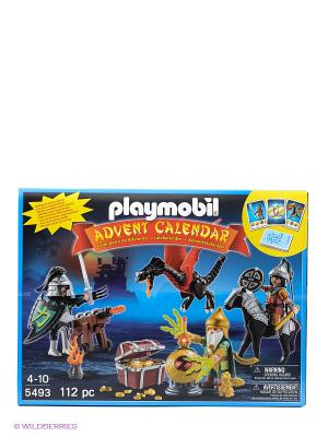 Набор календарь Битва за сокровища Playmobil. Цвет: черный, красный