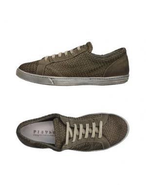 Низкие кеды и кроссовки PLAYHAT. Цвет: темно-зеленый