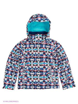 Куртка ROXY. Цвет: темно-синий