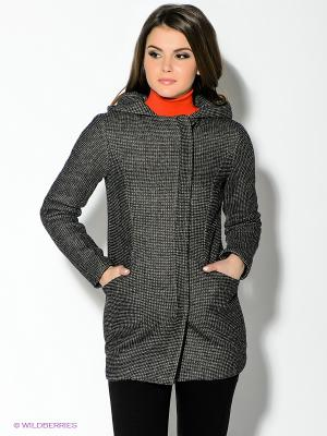 Пальто New Look. Цвет: черный, белый