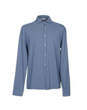 Pубашка MASSIMO REBECCHI. Цвет: темно-синий