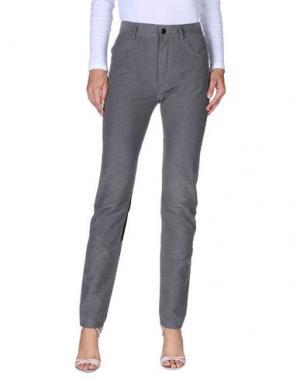 Повседневные брюки KOSTAS MURKUDIS. Цвет: серый
