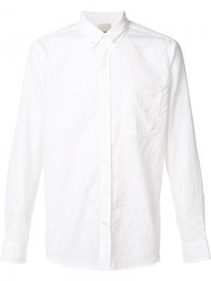 Рубашка William Baldwin. Цвет: белый