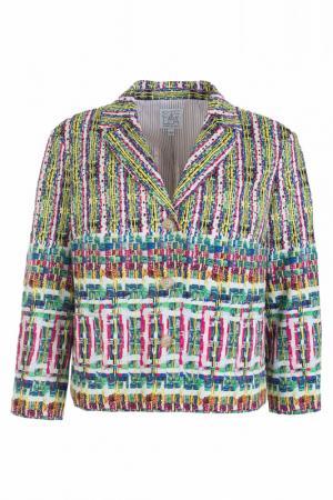 Пиджак STELLA JEAN. Цвет: разноцветный