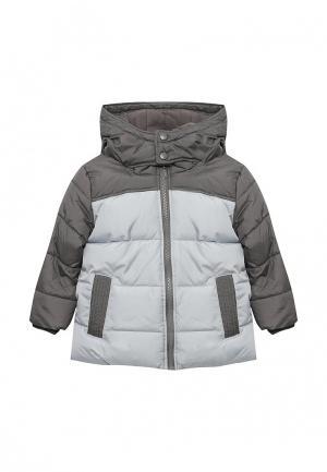 Куртка утепленная Button Blue. Цвет: серый