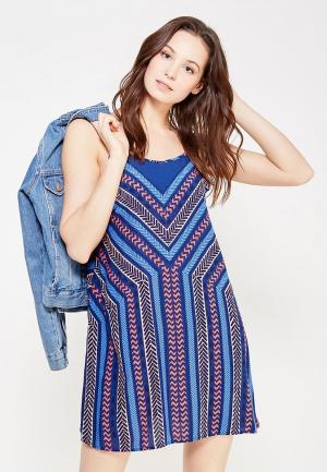 Платье Rip Curl. Цвет: синий