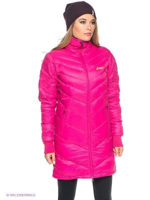 Куртка DOWN JACKET ASICS. Цвет: розовый