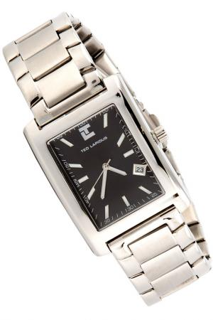 WATCH Ted Lapidus. Цвет: black and silver