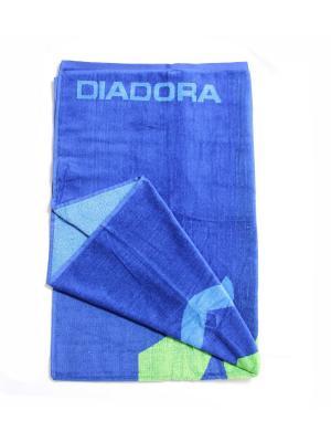 Полотенца пляжные DIADORA. Цвет: синий