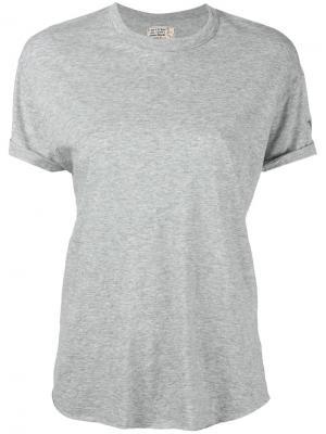Классическая футболка Sandrine Rose. Цвет: серый