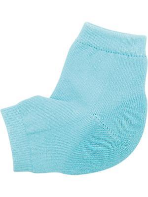 Носки косметические для ухода за кожей ног, 1 пара  HEEL REPAIR SOCKS alessandro. Цвет: бирюзовый