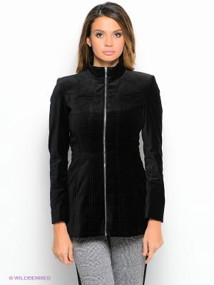 Куртка ZARINA. Цвет: черный