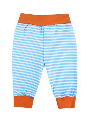 Штанишки Пираты КОТМАРКОТ. Цвет: голубой, оранжевый, белый