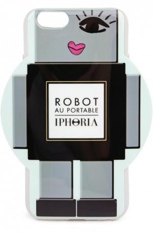 Чехол для iPhone 6 с декоративной отделкой Iphoria. Цвет: серый