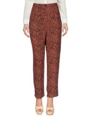 Повседневные брюки AMERICAN VINTAGE. Цвет: ржаво-коричневый