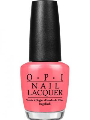 Opi Лак для ногтей Got Myself into a Jambalaya, 15 мл. Цвет: розовый