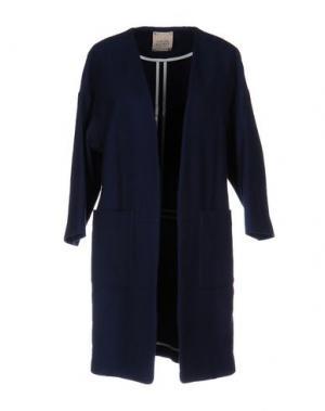 Легкое пальто GARAGE NOUVEAU. Цвет: темно-синий