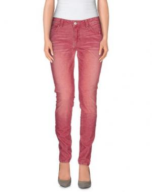 Повседневные брюки SIWY. Цвет: пастельно-розовый