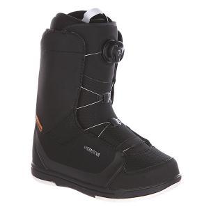 Ботинки для сноуборда женские  Alpha Lara Boa Black Deeluxe. Цвет: черный