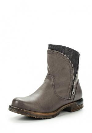 Ботинки Gioia. Цвет: серый