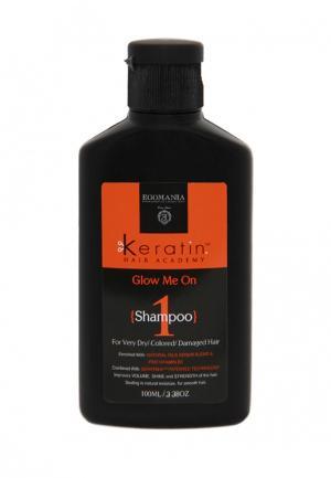 Шампунь для поврежденных волос Egomania Prof. Цвет: черный