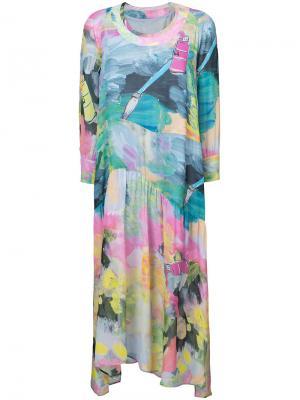 Brushstroke print dress Tsumori Chisato. Цвет: многоцветный