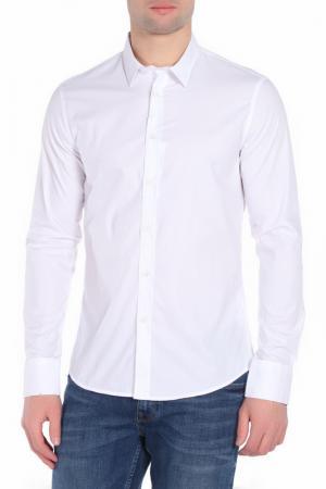 Рубашка Bikkembergs. Цвет: optical white