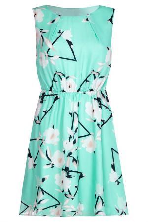 Платье Iska. Цвет: torquise