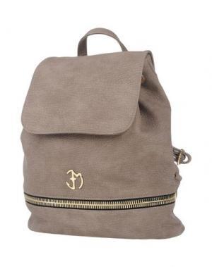 Рюкзаки и сумки на пояс EVA MINGE. Цвет: голубиный серый
