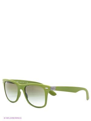 Очки солнцезащитные Ray Ban. Цвет: оливковый