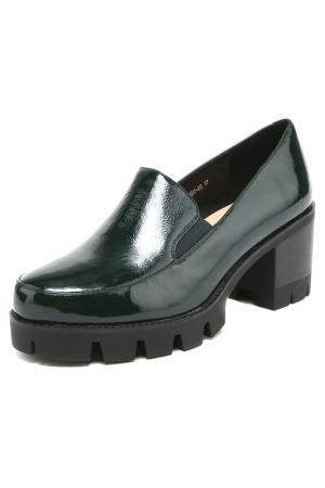 Туфли Libellen. Цвет: зеленый