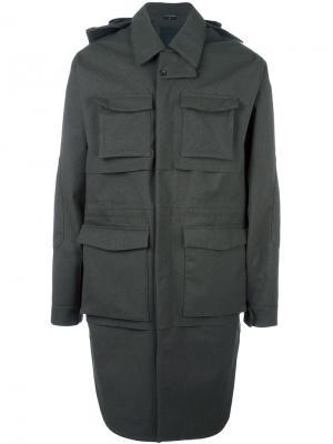 Пальто карго Norwegian Rain. Цвет: зелёный