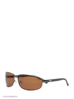Поляризационные очки Vittorio Richi. Цвет: коричневый