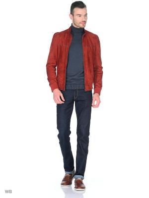 Куртка MONDIAL. Цвет: бордовый