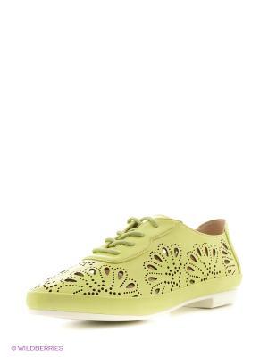 Ботинки Ridlstep. Цвет: салатовый