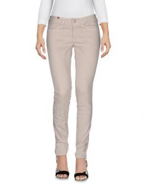Джинсовые брюки NOTIFY. Цвет: светло-серый