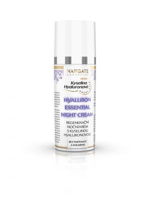Крем ночной восстанавливающий для лица Night Cream с гиалуроновой кислотой NAFIGATE Cosmetics. Цвет: сиреневый, белый, кремовый