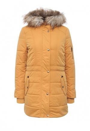 Куртка утепленная Mavi. Цвет: желтый