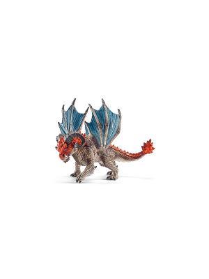 Дракон Таран SCHLEICH. Цвет: бежевый, голубой, красный