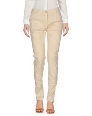 Повседневные брюки ALLEGRI. Цвет: бежевый